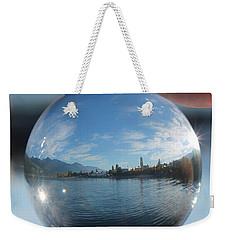 Kaslo Through The Looking Glass Weekender Tote Bag by Cathie Douglas
