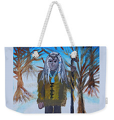 Katanka Protector Of Buffalo Weekender Tote Bag