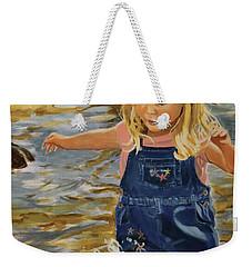 Kate Splashing Weekender Tote Bag
