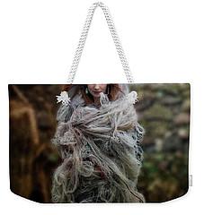 Katharsis Series 1/3 Tethering Weekender Tote Bag by Agnieszka Mlicka