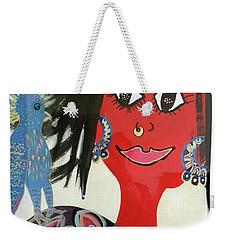 Kathleen Weekender Tote Bag