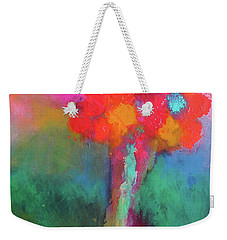 Katie's Beautiful Flowers. Painting. Weekender Tote Bag