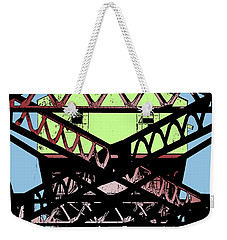 Katy Trail Bridge Weekender Tote Bag