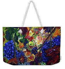 Katy's Grapes Weekender Tote Bag