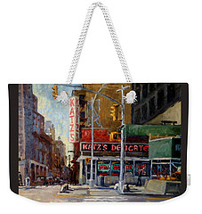 Katz's Delicatessen, New York City Weekender Tote Bag