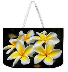 Kauai Plumerias Large Canvas Art, Canvas Print, Large Art, Large Wall Decor, Home Decor, Photograph Weekender Tote Bag