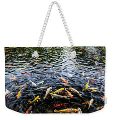 Kauai Koi Pond Weekender Tote Bag by Darcy Michaelchuk