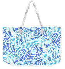 Kaua'i Ocean Leaves Weekender Tote Bag