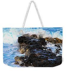 Kauai Rock Splash Weekender Tote Bag
