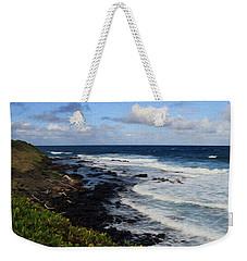 Kauai Shore 1 Weekender Tote Bag
