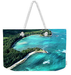 Kawela Bay, Looking West Weekender Tote Bag