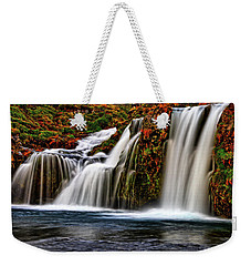 Weekender Tote Bag featuring the photograph Kay Falls by Scott Mahon