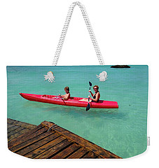 Kayaking Perfection 1 Weekender Tote Bag