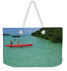 Kayaking Perfection 2 Weekender Tote Bag