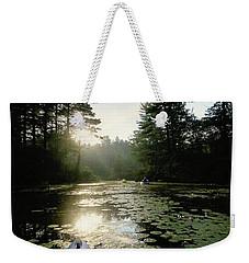 Kayaking Weekender Tote Bag