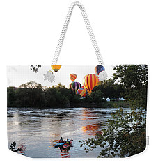 Kayaks And Balloons Weekender Tote Bag