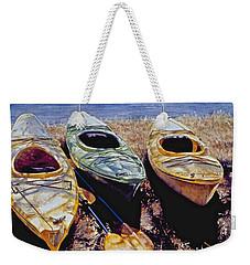 Kayaks Weekender Tote Bag