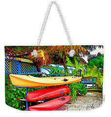 Kayaks In Paradise Weekender Tote Bag