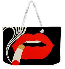 Smoking Malevich  Weekender Tote Bag