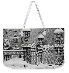 Kc Plaza Is Art In The Snow Weekender Tote Bag