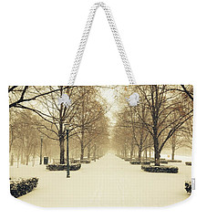 Kc Snow With Parisian Flare Weekender Tote Bag