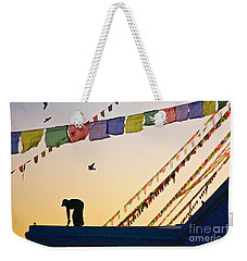 Weekender Tote Bag featuring the photograph Kdu_nepal_d113 by Craig Lovell