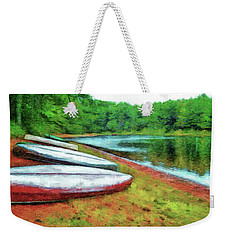 Kearney Lake Beach Weekender Tote Bag