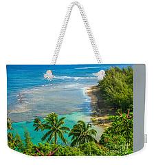 Kee Beach Kauai Weekender Tote Bag