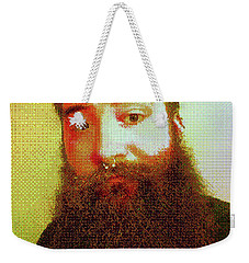 Weekender Tote Bag featuring the digital art Keefer Mosaic by Shawn Dall