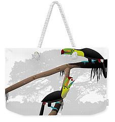 Keel-billed Toucans Weekender Tote Bag