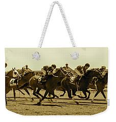Keenland Sepia Weekender Tote Bag by Dan Hefle