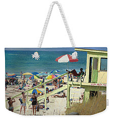 Keep Back 15 Ft Weekender Tote Bag