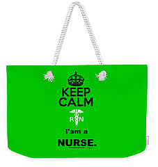 Keep Calm,rn Weekender Tote Bag