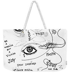Keep Focused  Weekender Tote Bag