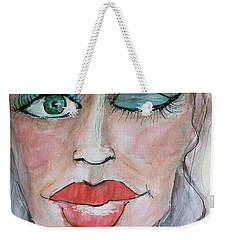 Keep Putting On Lipstick Weekender Tote Bag
