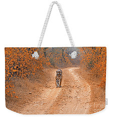 Keep Walking Weekender Tote Bag by Pravine Chester