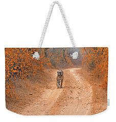 Keep Walking Weekender Tote Bag
