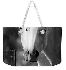 Keeping Their Eyes On Us Weekender Tote Bag by Wes and Dotty Weber