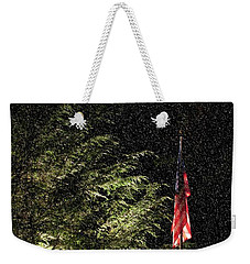 Keeping America  Illuminated.  Weekender Tote Bag