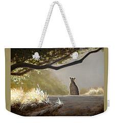 Keeping Watch - Cheetah Weekender Tote Bag