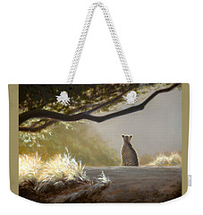 Keeping Watch - Cheetah Weekender Tote Bag