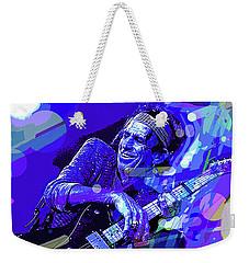 Keith Richards Blue Weekender Tote Bag
