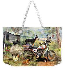 Kelpie Karetakers Weekender Tote Bag