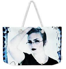 Weekender Tote Bag featuring the digital art Kelsey 2 by Mark Baranowski