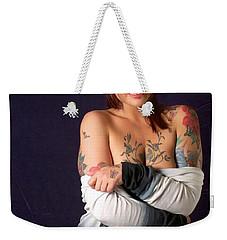 Kelsey Rose Weekender Tote Bag by Sean Griffin