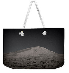 Kelso Dunes At Night Weekender Tote Bag by Nature Macabre Photography
