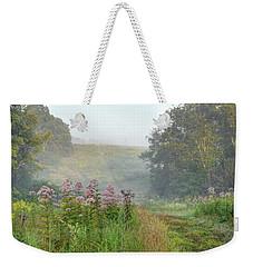 Kendall Hills Fog Weekender Tote Bag