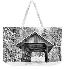 Keniston Covered Bridge  Weekender Tote Bag