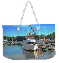 Weekender Tote Bag featuring the photograph Kennebunk, Maine - 2 by Jerry Battle