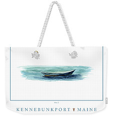 Kennebunkport Dory 2 Weekender Tote Bag